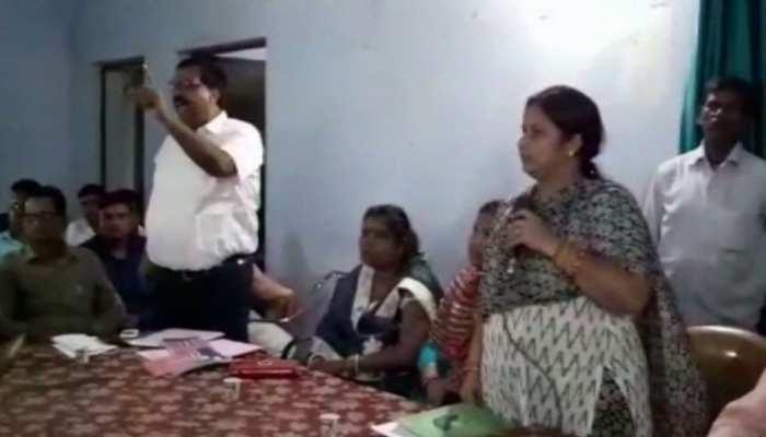 बिहार में बाढ़ पर बवाल, आपदा प्रबंधन की बैठक में CO और BDO ने मचाया हंगामा