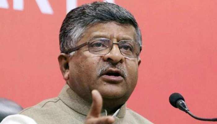 रविशंकर प्रसाद ने वापस लिया, फिल्मों की कमाई का हवाला देकर आर्थिक मंदी नकारने वाला बयान