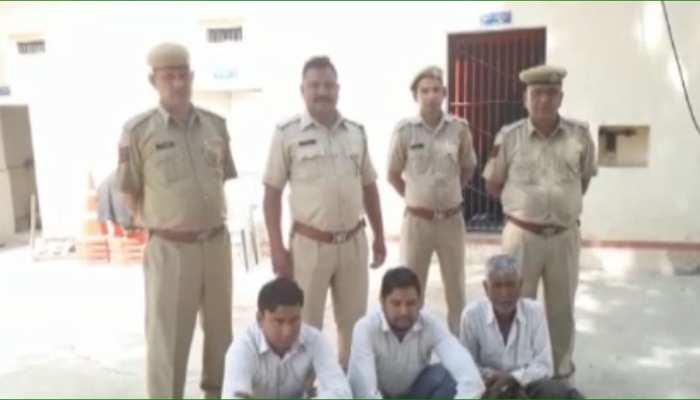 सीकर पुलिस ने 14 गांजे के साथ 3 आरोपियों को किया गिरफ्तार, पूछताछ जारी