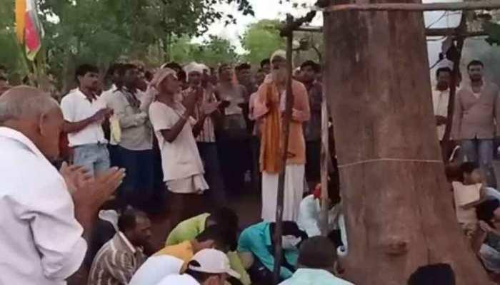 MP: लोगों के अंधविश्वास ने पेड़ को बना दिया 'डॉक्टर', छूने मात्र से दूर हो रही बीमारियां!