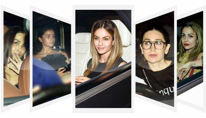 Malaika, Arjun, Kareena, Alia, gathering of stars at Karan Johar's house, see pics