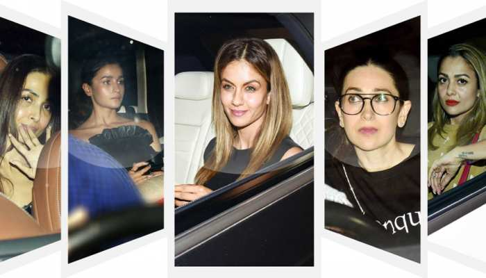 Malaika, Arjun, Kareena, Alia, gathering of stars at Karan Johar's house, see pics