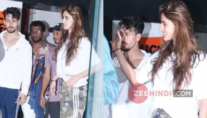 Disha Patani and Tiger Shroff could not escape the camera's eyes, SPOT together again