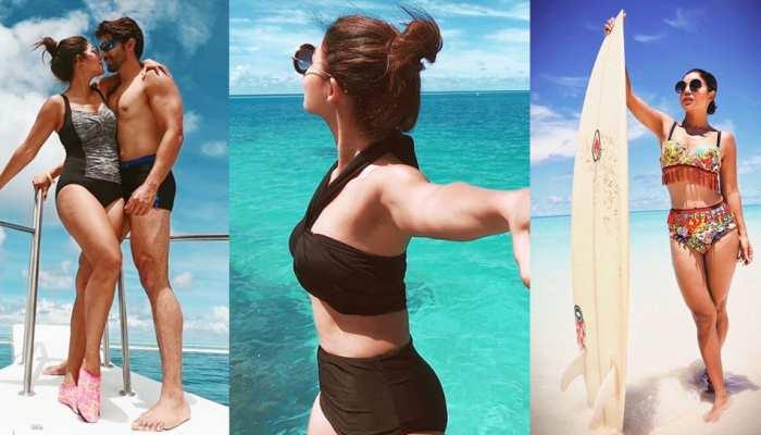 Debina Bonnerjee slays in hot bikini on her vacations