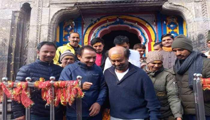 'दरबार' की सफलता के लिए रजनीकांत ने की प्रार्थना, बोले- 'गुरु का आशीर्वाद जरूरी'