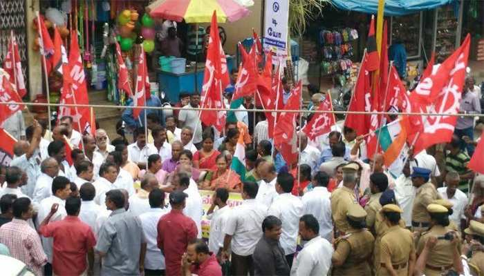 भोजपुर: तूल पकड़ रहा माले नेता की हत्या का मामला, कार्यकर्ताओं ने किया चक्का जाम