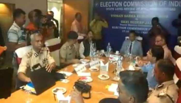 निर्वाचन आयोग ने सियासी दलों के साथ की बैठक, विधानसभा चुनाव को लेकर हुई बैठक