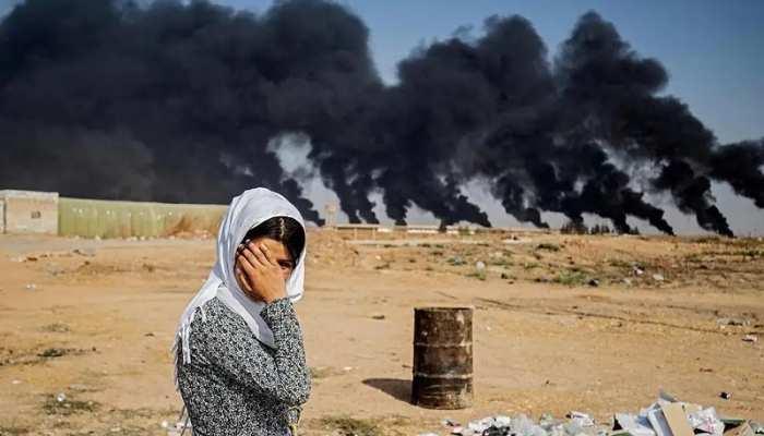 जर्मन हथियारों के बल पर सीरिया में कहर बरपा रहा है तुर्की