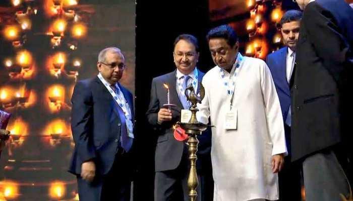 CM कमलनाथ ने 'मैग्नीफिसेंट MP' का किया उद्घाटन, कार्यक्रम में शामिल होंगे 900 से अधिक उद्योगपति