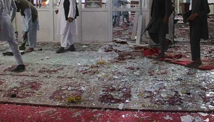 अफगानिस्तान : मस्जिद में विस्फोट, 62 मरे, 100 से अधिक घायल