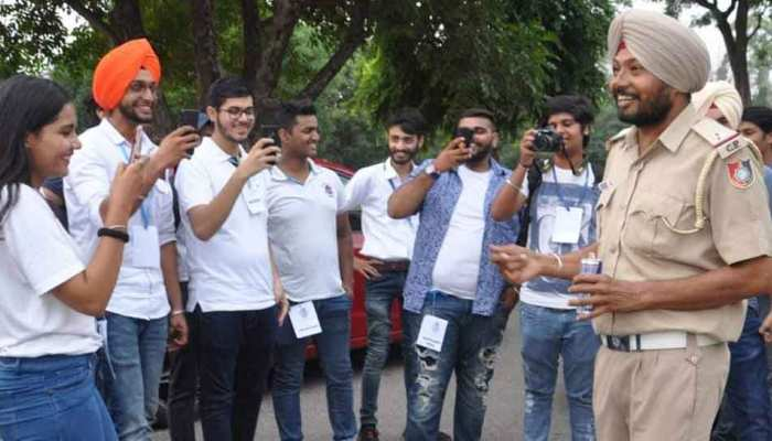 Making people aware of traffic rules through songs, ASI of Chandigarh