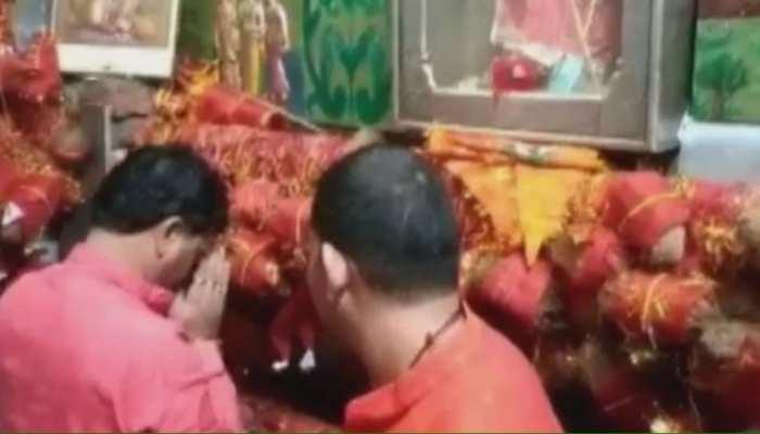 सुजानगढ़: कैलाश चौधरी पहुंचे सालासर धाम, किए बालाजी के दर्शन