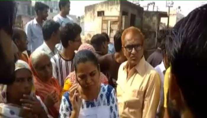सवाई माधोपुर: पेयजल समस्या को लेकर लोगों का विरोध, चुली गेट पर लगाया जाम