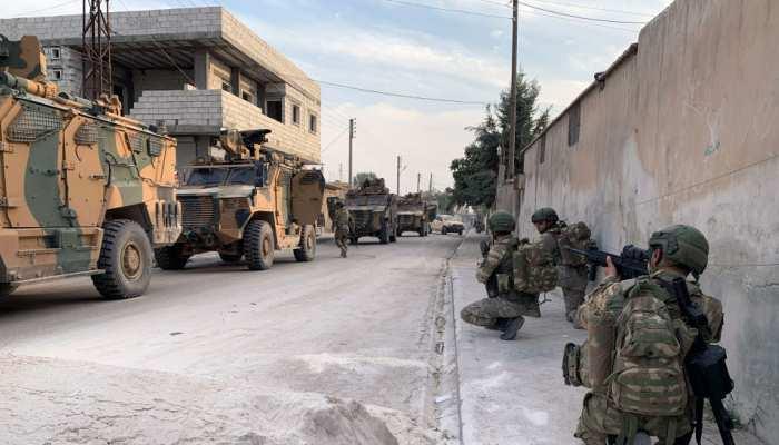 सीरियाई कुर्दो ने की अमेरिका से अपील, कहा - तुर्की पर संघर्ष विराम का दबाव डालिए