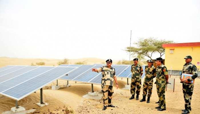 बॉर्डर की निगरानी में मदद करेगी सौर ऊर्जा, भारतीय सेना का खर्च भी होगा कम