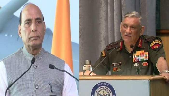भारतीय सेना की कार्रवाई में मारे गए 20 आतंकी, रक्षा मंत्री ने की सेना प्रमुख से बात