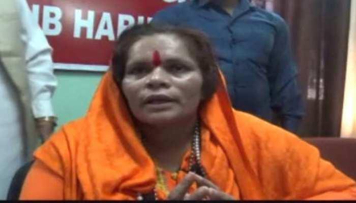 कमलेश तिवारी हत्याकांड के बाद साध्वी प्राची ने मांगी सुरक्षा, कहा- मेरी भी हो सकती है हत्या