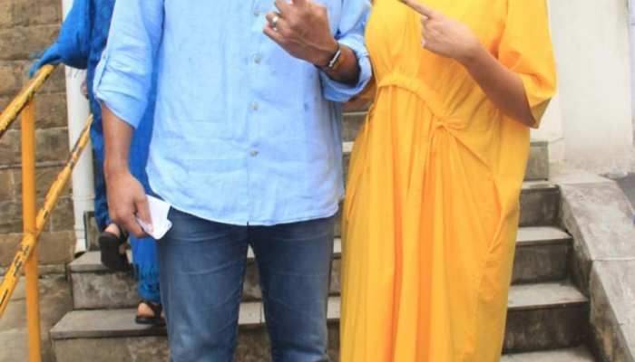 Maharashtra assembly elections 2019: These Bollywood cast their vote, see pics