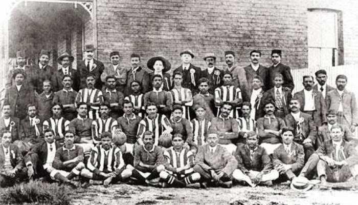 बापू को था फुटबाल का जूनून, दक्षिण अफ्रीका में शुरू किए थे तीन क्लब