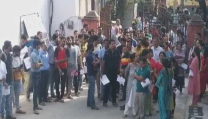 अजमेर में जनसंपर्क अधिकारी संवीक्षा परीक्षा की हुई शुरुआत, 11 परीक्षा केंद्र स्थापित
