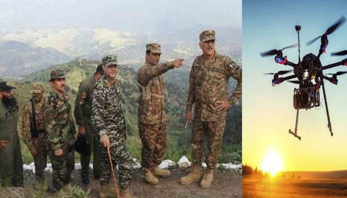पाक आर्मी और ISI की नई साजिश का खुलासा, घुसपैठ के लिए ड्रोन के जरिए देखे जा रहे हैं रास्ते...