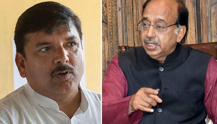 AAP सांसद संजय सिंह ने जावड़ेकर को लिखी चिट्ठी, बिजली योजना पर BJP से मांगा जवाब