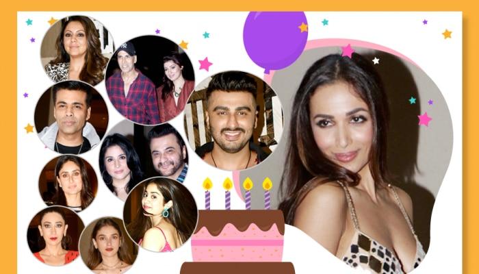 These stars celebrated Malaika Arora's birthday with Kareena, Arjun Kapoor, see photos