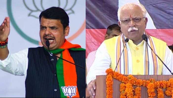 यदि BJP की धमाकेदार जीत हुई तो बढ़ेगा खट्टर और फडणवीस का कद, यदि हारे तो...