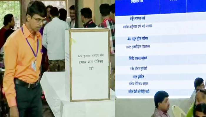 Maharashtra assembly election result 2019 live: counting of votes started, see photos