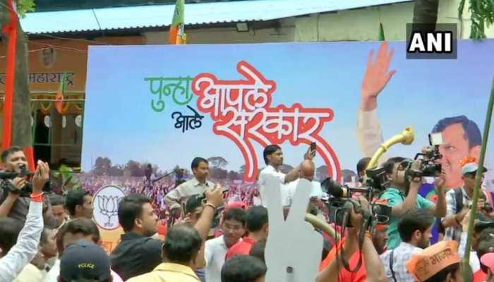 महाराष्ट्र में जीत के लिए आश्वस्त थी भाजपा, पहले ही सजा लिया था ऑफिस