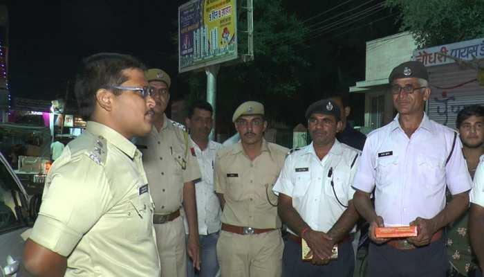 राजस्थान: पुलिसकर्मियों के लिए यादगार बनी दिवाली, SP ने दी सभी को 'मीठी' बधाई