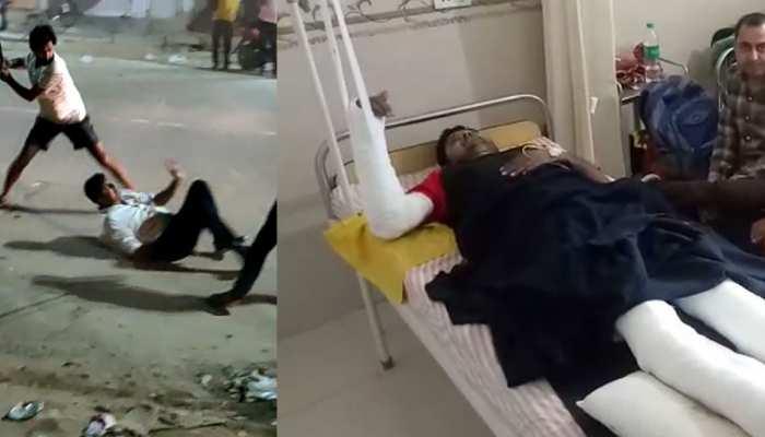 झुंझुनूं में युवक के साथ हुई बेरहमी से मारपीट, सोशल मीडिया पर वायरल हुआ वीडियो