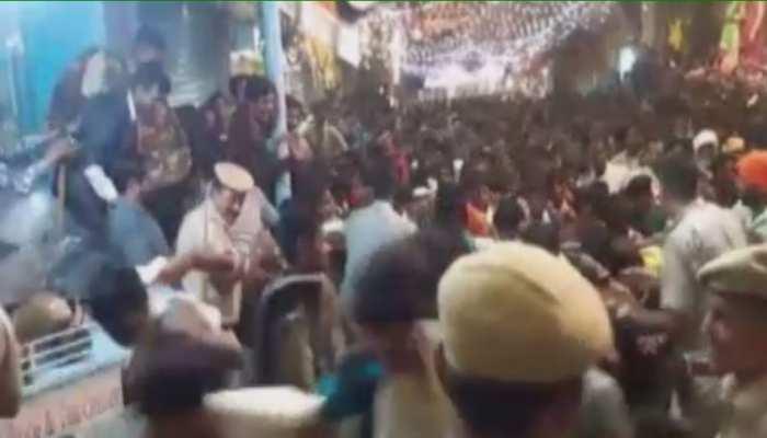 राजसमंद:अन्नकूट दर्शन के दौरान भगदड़
