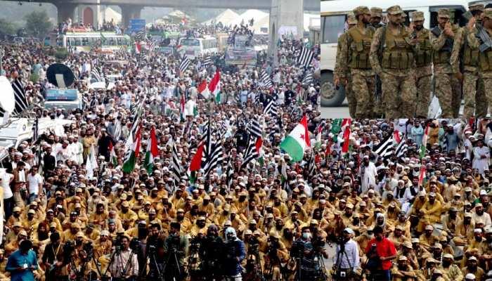 'आजादी मार्च' के बढ़ते कदम से इमरान सरकार की फूली सांसें, खड़ी कर दी सेना