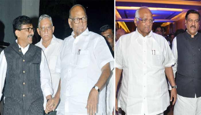 महाराष्ट्र में अब शरद पवार बने 'पावर सेंटर'! शिवसेना और कांग्रेस नेताओं ने की मुलाकात