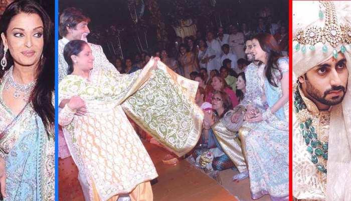 BIRTHDAY SPECIAL: See, Aishwarya Rai's wedding photos of 12 years ago