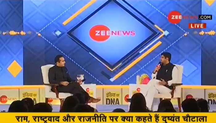 #IndiaKaDNA- 3 महीने की मेहनत से हरियाणा में 10 सीटें जीतकर दिखाई: दुष्यंत चौटाला