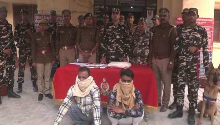 भारत-नेपाल सरहद पर हेरोइन की बड़ी खेप के साथ सरगना समेत 5 गिरफ्तार