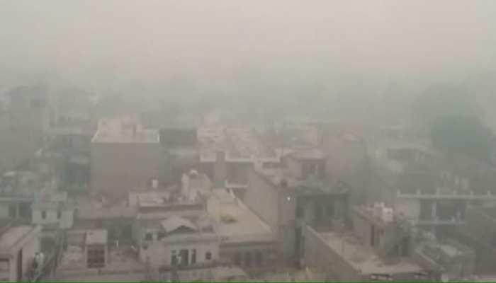 अलवर: दिखा प्रदूषण का असर, आसमान में छाया Smog