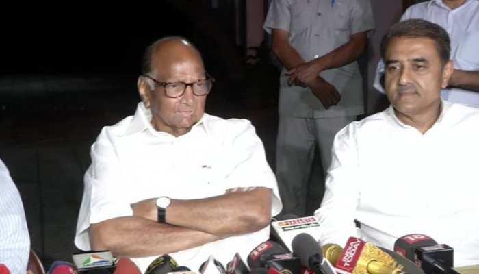 सोनिया गांधी से मुलाकात के बाद पवार बोले, 'सरकार गठन को लेकर बात नहीं हुई, हमारे पास नंबर नहीं'