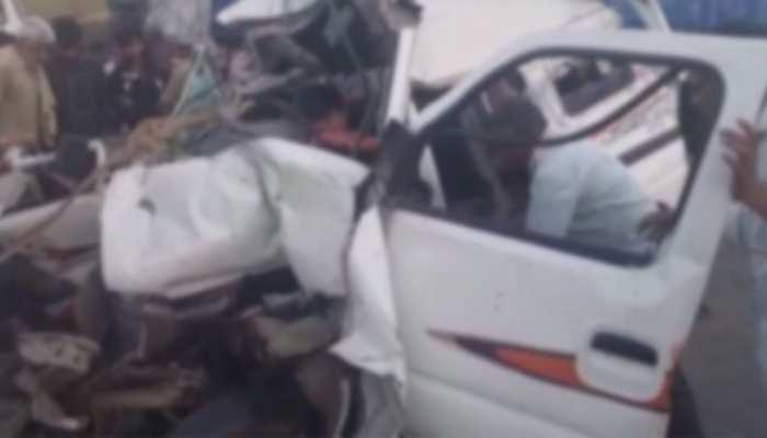 सिरोही: राष्ट्रीय राजमार्ग पर भीषण सड़क हादसे में 5 की मौत, सीएम ने जताया शोक