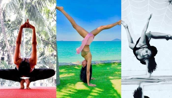 Yoga of actress Kavita Kaushik stole everyone, See VIRAL photos
