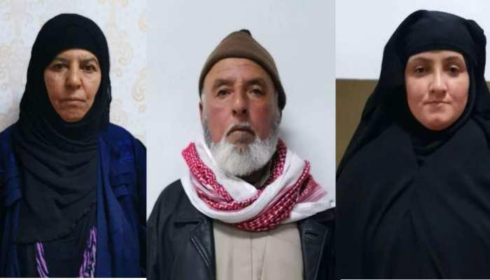पकड़ी गई ISIS आतंकी बगदादी की बहन, पति और बहू को भी हिरासत में लिया गया
