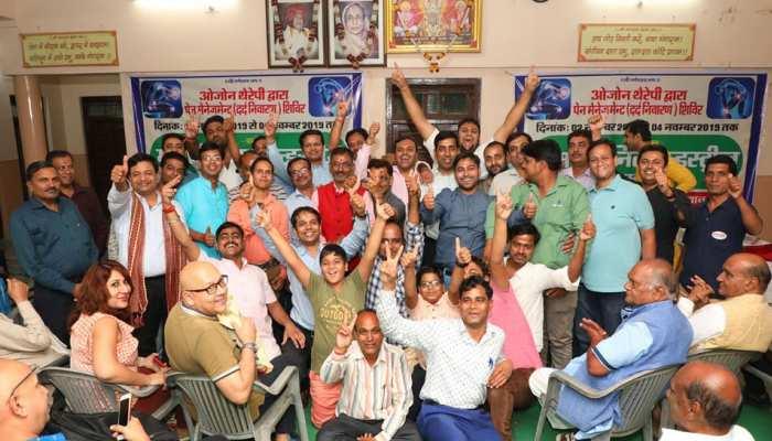 राजस्थान: ओजोन थैरेपी कैंप में पहुंचे कई डॉक्टर, कहा- हड्डियों को कमजोर कर रहा फ्लोराइड