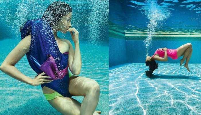 Actress Alia Bhatt gets a very beautiful bikini photoshoot photo viral