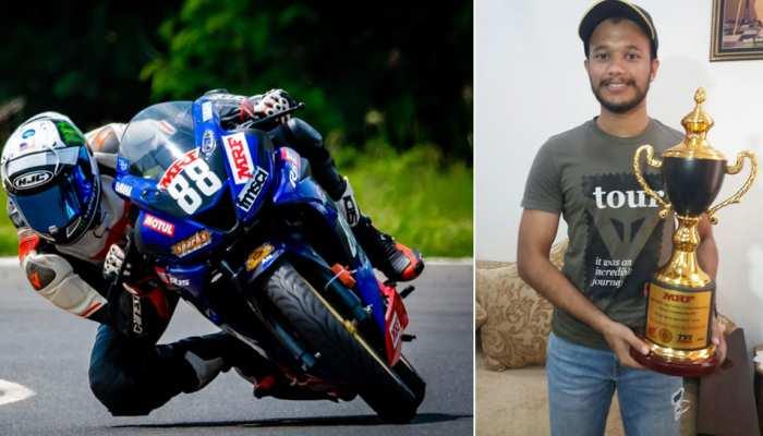 डर के मारे पिता नहीं दिलवा रहे थे रेसिंग बाइक, हरियाणा के इस छोरे ने नेशनल में कमाया नाम