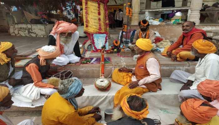 पुष्कर: राम मंदिर के फैसले को लेकर साधु-संतों ने किया भजन-कीर्तन, मांगी ये मुराद