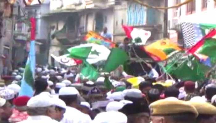 डूंगरपुर: कौमी एकता के संदेश के साथ निकाला गया ईद मिलादुन्नबी का जुलूस