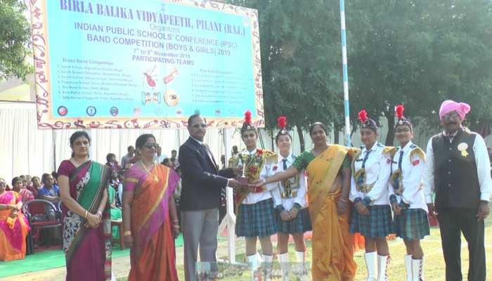 झुंझुनूं: बैंड प्रतियोगिता में बिरला बालिका विद्यापीठ की टीम का रहा दबदबा