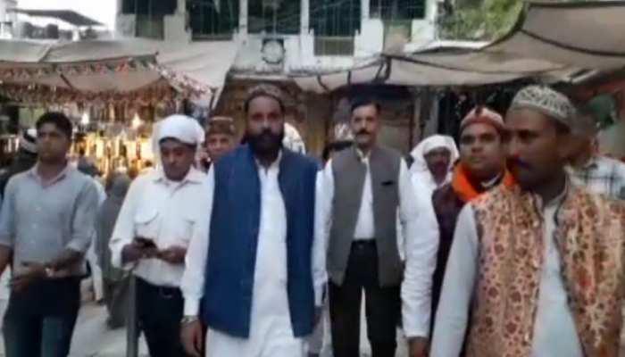 अजमेर पहुंचे महाराष्ट्र के कांग्रेस विधायक, गरीब नवाज की दरगाह में लगाई हाजिरी